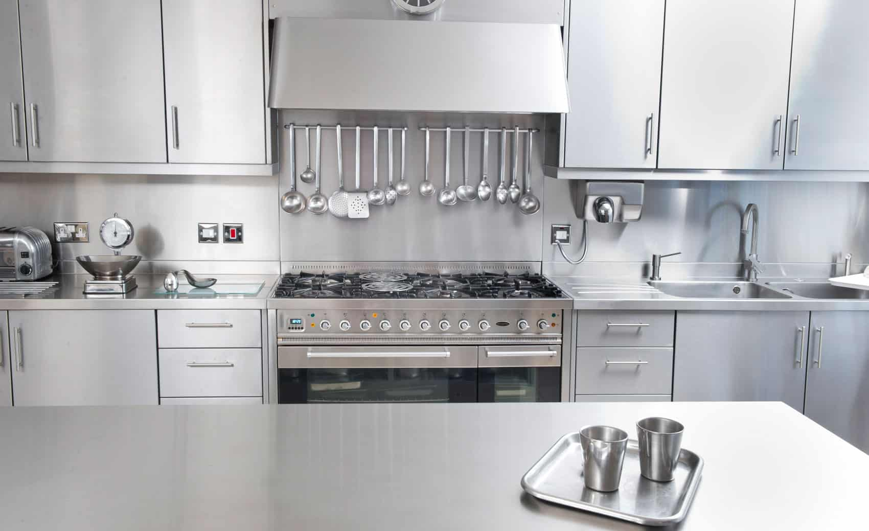 Steel Modular Kitchens in Gurgaon | Stainless Steel Wardrobes